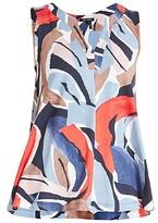 Thumbnail for your product : NIC+ZOE, Plus Size Americana Sleeveless Tunic