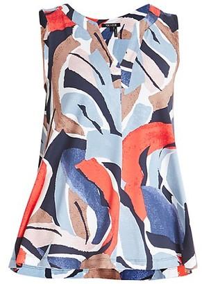 NIC+ZOE, Plus Size Americana Sleeveless Tunic