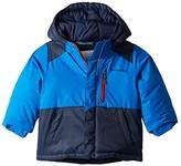 Columbia Kids Lightning Lifttm Jacket (Toddler) (Super Blue/Collegiate Navy/Beet) Boy's Coat