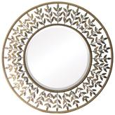 "39"" Willow Brook Silver Metal Mirror"