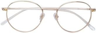 S'nob Round Frame Glasses
