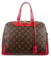 Louis Vuitton 2015 Monogram Retiro NM Coquelicot