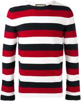 Gucci snake embellished sweater - men - Cotton - XS