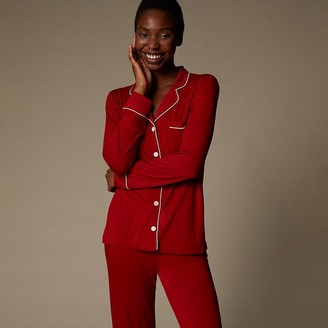 Love & Lore Love And Lore Piped Pj Set Red Medium