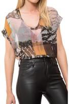 Raquel Allegra Short Sleeve Top