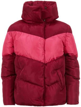 Calvin Klein Colorblocked Puffer Jacket