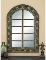 AMERICAN HOME Old Wrold 48 in. x 32 in. Arched Framed Mirror