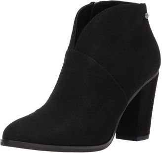 206 Collective Womens Everett Suede High Heel Ankle Bootie