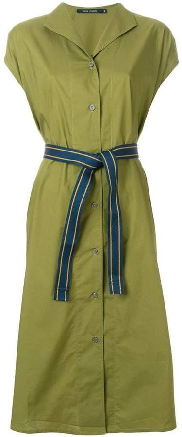 Sofie D'hoore tie waist mid-length dress
