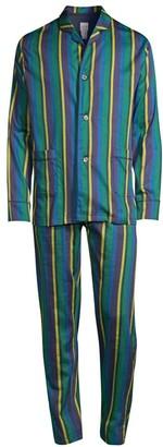 Paul Smith 2-Piece Striped Pajama Set