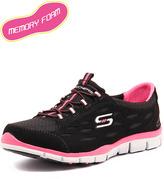 Skechers Gratis Full Circle Black/White/Pink