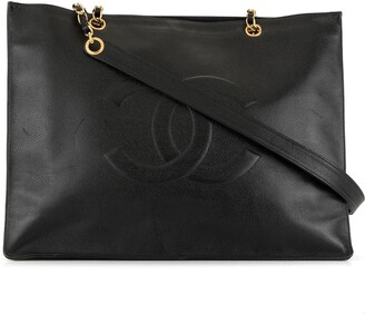 Chanel Pre Owned 1997 Jumbo XL CC shoulder bag
