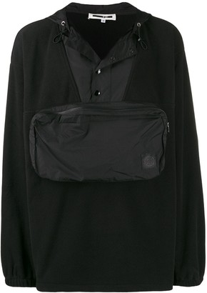 McQ Offspring pouch pocket hoodie