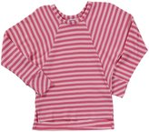 Erge French Terry Stripe Top (Kid) - Pink-Small