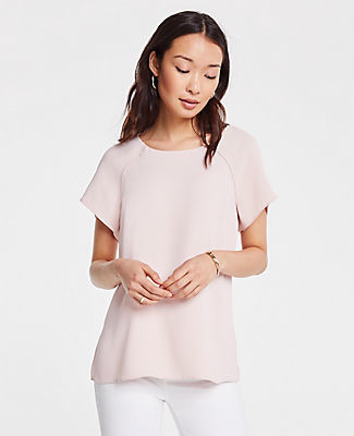 Ann Taylor Twist Back Tee