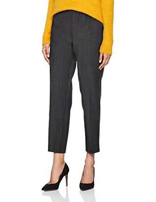Benetton Women's Trousers Straight Trouser,14 (Manufacturer Size: )