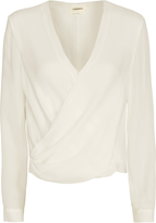 L'Agence Gia Cross Front Blouse