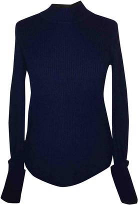 Jigsaw Blue Cashmere Knitwear