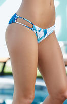 La Hearts Loop Side Tropical Cheeky Bikini Bottom