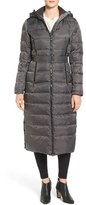 Vince Camuto Women's Belted Hooded Down & Feather Fill Maxi Coat