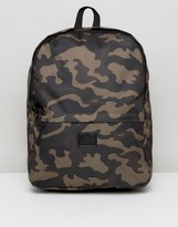 Asos Backpack In Camo Print Design