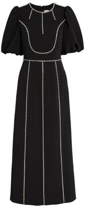 Huishan Zhang Piper Puff-Sleeved Dress