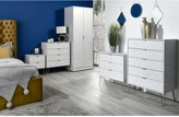 Marbella Swift Ready Assembled 2 Drawer Bed Chest with Integrated Wireless Charging