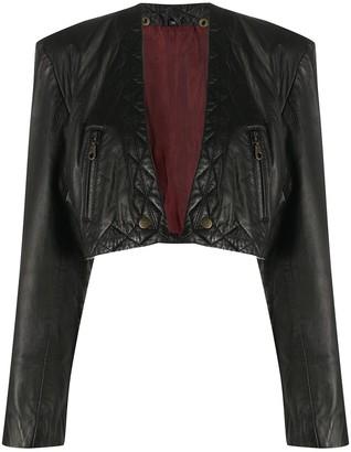 A.N.G.E.L.O. Vintage Cult 1980s Leather Bolero Jacket