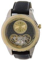 Elgin Men's Genuine Leather Semi Automatic Watch FGC7080B