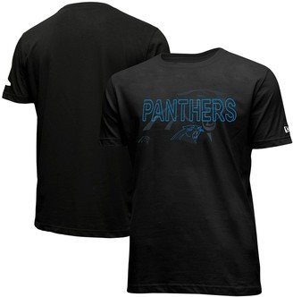New Era Men's Black Carolina Panthers 2020 NFL Draft Cap Hook Up T-Shirt