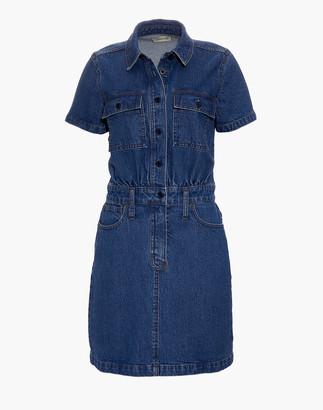 Madewell Denim Waisted Shirtdress