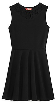 Aqua Girls' Lace Keyhole Dress, Big Kid - 100% Exclusive