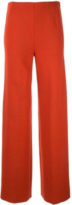 Hermes Pre-Owned High-Waisted Wide Leg Trousers