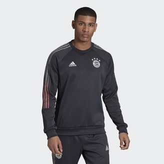 adidas FC Bayern Travel Crew Sweatshirt