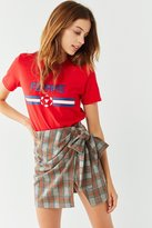 Urban Outfitters Plaid Wrap Mini Skirt