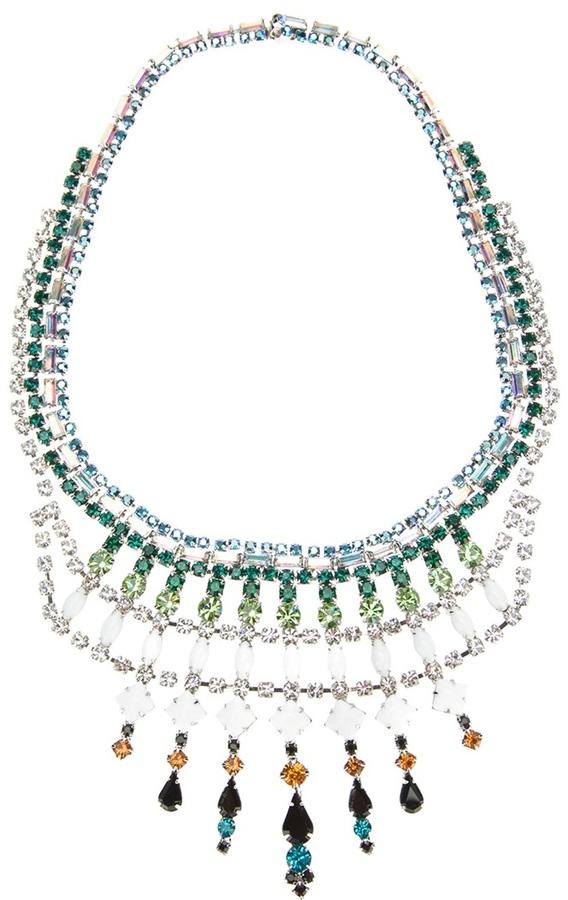 Tom Binns embellished necklace