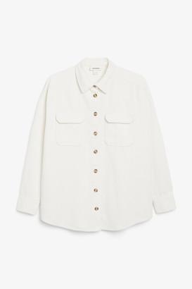 Monki Corduroy shirt