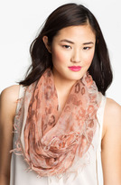 Collection XIIX 'Washed Animal Spot' Infinity Scarf
