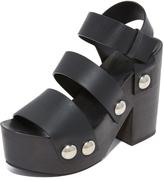 Alexander Wang Tess Clog Sandals