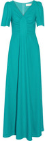Goat Rosa Wool-Crepe Gown