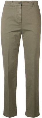 Aspesi Cropped Slim-Fit Trousers