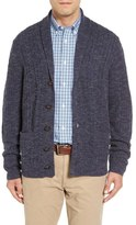 John W. Nordstrom Cable Knit Shawl Collar Cashmere Cardigan (Regular & Tall)