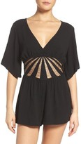 Becca Women's Sunburst Cover-Up Romper