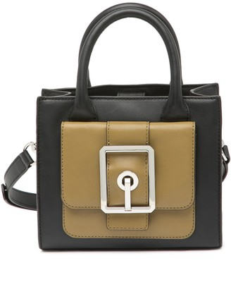 Rebecca Minkoff Hook Up Leather Mini Tote Crossbody Bag