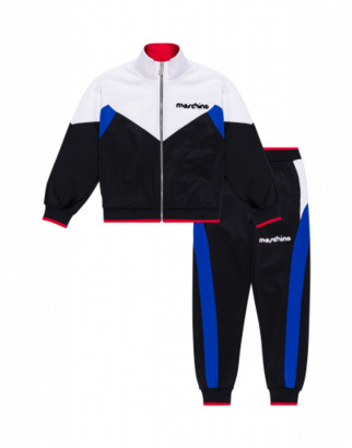 Moschino Interlock Tracksuit Set Broken Logo