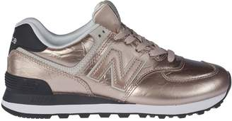 New Balance Patched Sneakers
