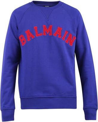 Balmain Patched Sweatshirt
