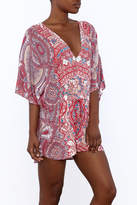 On The Road Paisley Romper