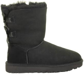 UGG Bailey Bow Ii Black Boots