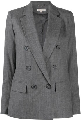 MICHAEL Michael Kors Double Breasted Wool Blazer